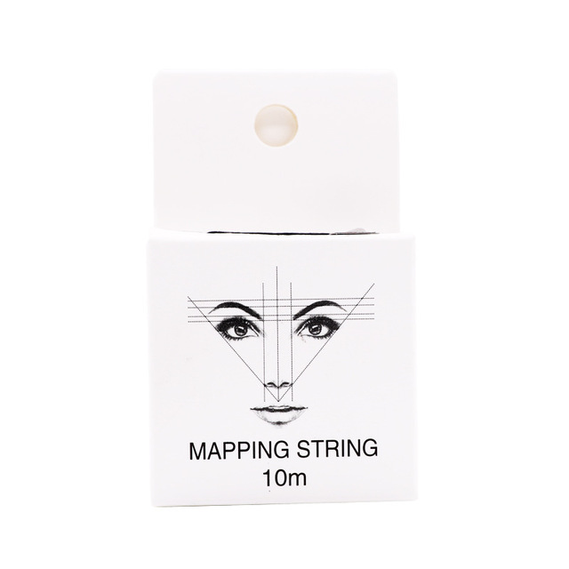 Mapping Staing Thread Microblading Pre-ink Eyebrow Permanent Positioning Eyebrow Marking Line Tattoo Accessories Measuring Tool 3