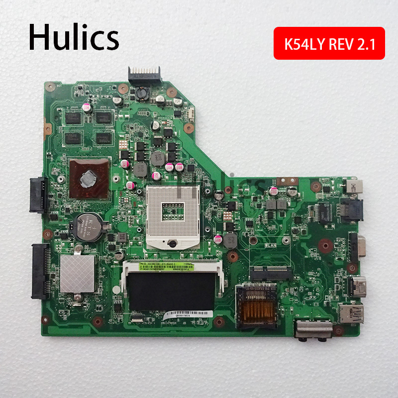 Hulics Original K54LY Motherboard REV2.1 For ASUS X54H K54HR X54H Laptop Mainboard Board