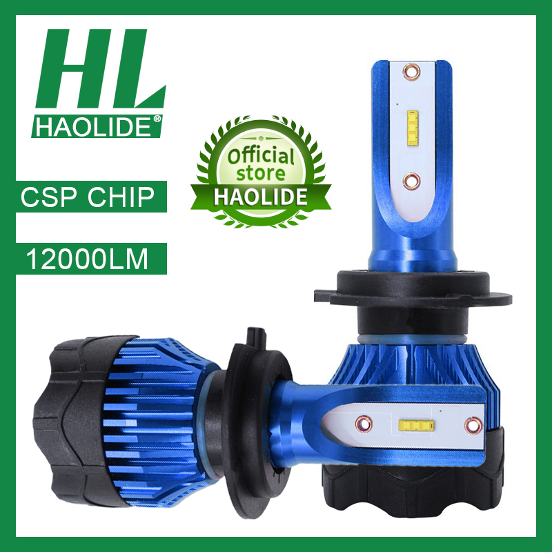 /HL LED Headlight Bulbs For Cars H1 H4 H7 H8 H9 H11 9005 HB3 9006 HB4 12000LM 6500K 4300K LED Bulbs Auto Lamps Motorcycle Lights
