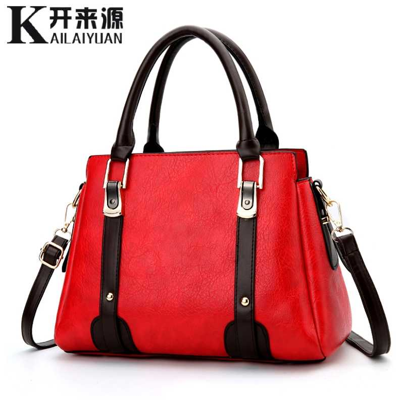 100% Genuine leather Women handbags 2019 New Female Korean version of the sweet and stylish women's bag slung shoulder bag