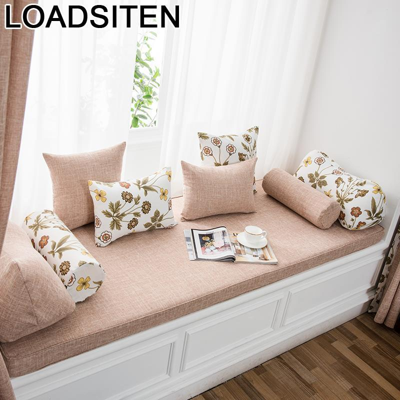 Floor Silla Jardin Poduszki Siedziska Cama Poduszka Na Siedzisko Mattress Cojin Home Decor Balcony Seat Cushion Window Bay Mat