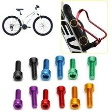 Bolts Screw Kettle-Rack Bike Bicycle MTB Aluminium-Alloy M5 1-Pair Hex-Socket