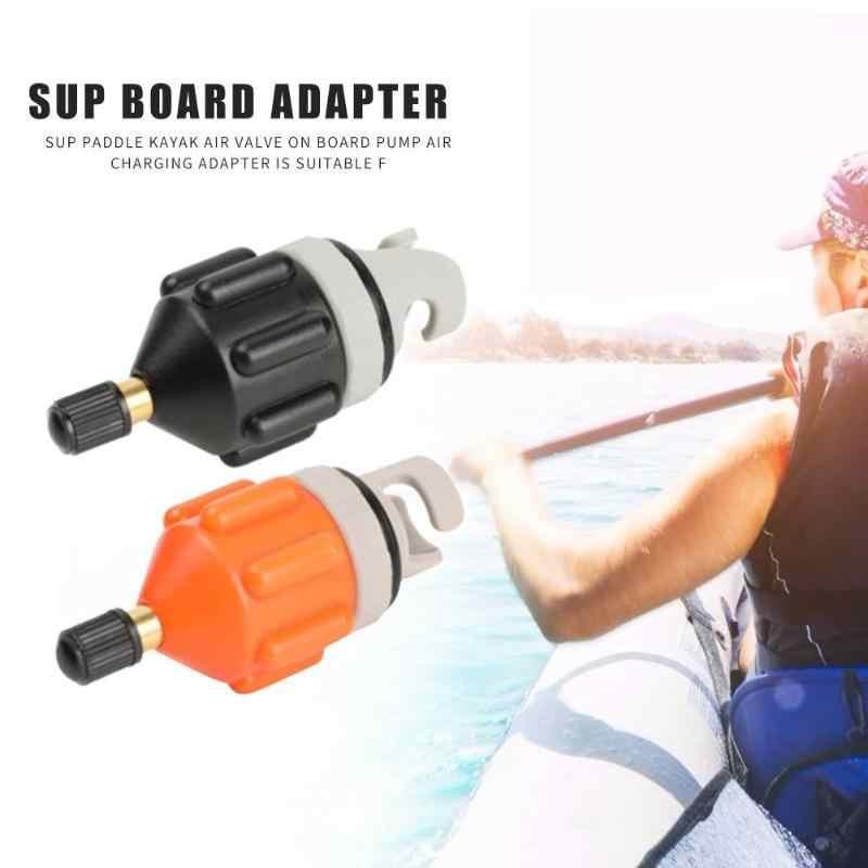 ทนทานAirวาล์วอะแดปเตอร์Multi-Functionไนลอนพายเรืออากาศวาล์วอะแดปเตอร์KAYAK Inflatableปั๊มสำหรับSUP BOARD