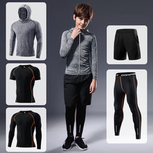 Boy Sportswear Compression Sport Suits Quick Dry Running Sets Clothes Sports Joggers Training Gym Fitness Tracksuits Running Set men s compression sport suits quick dry running sets clothes gym joggers training fitness tracksuits running set