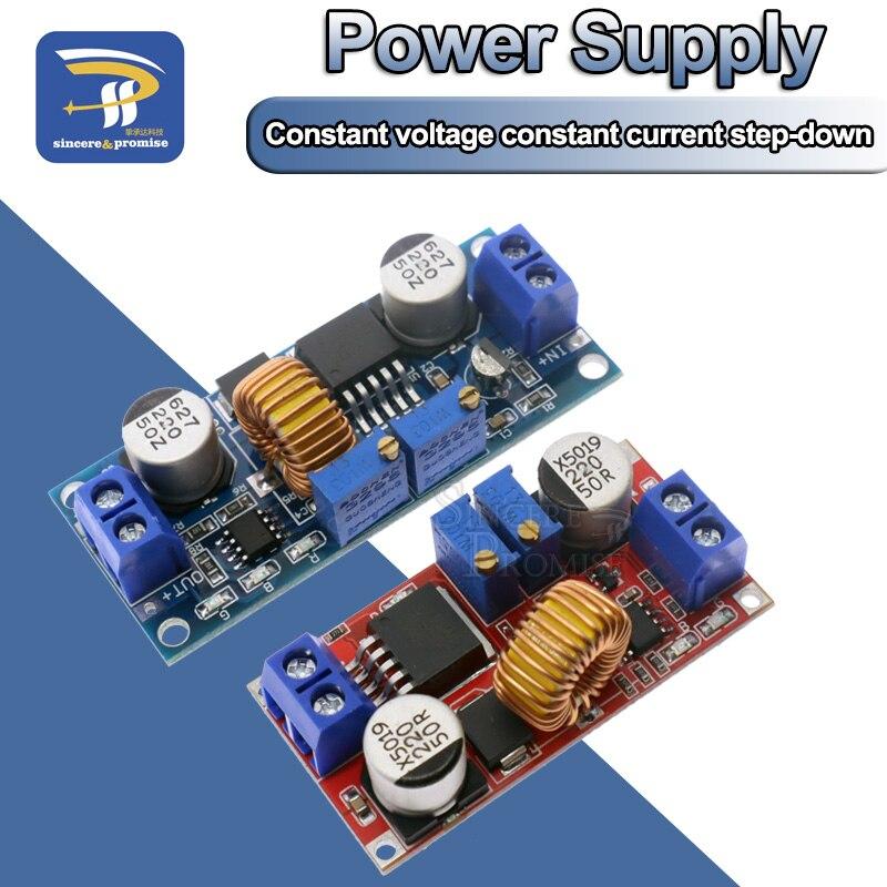 Блок питания XL4015, понижающий модуль питания 5A LED Drive для литий-ионных батарей, постоянный ток, постоянное напряжение