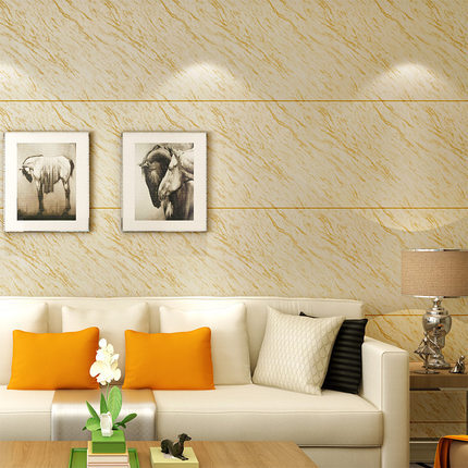 Modern Faux Marble Tile Stripes Wallpaper Simple 3D TV Wall Bedroom Living Room Television Background Wall Wallpaper