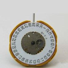 Часы Аксессуары для перемещения Япония GM10 кварцевый механизм три штифта один календарь стержень без батареи