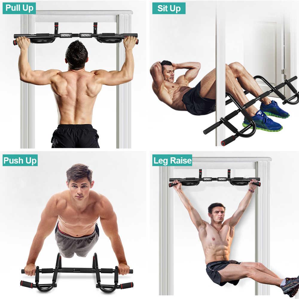 6 in1 Doorway Chin Up Bar Door Frame Door Multi-Grip Pull Up Bar For Gym Fitness