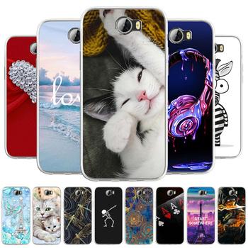 Dla Huawei Y5II Y6 ii kompaktowy Honor 5A Honor Play 5 etui na telefon miękka TPU Cute Cat Animal Funda Coque na Honor Play 5 Honor 5 Play tanie i dobre opinie CN (pochodzenie) For Huawei Y6 ii Y6 ii MINI Honor 5A Y5 2 Honor Play 5 Honor 5 Play silicone soft phone case Capinha Capas Coque