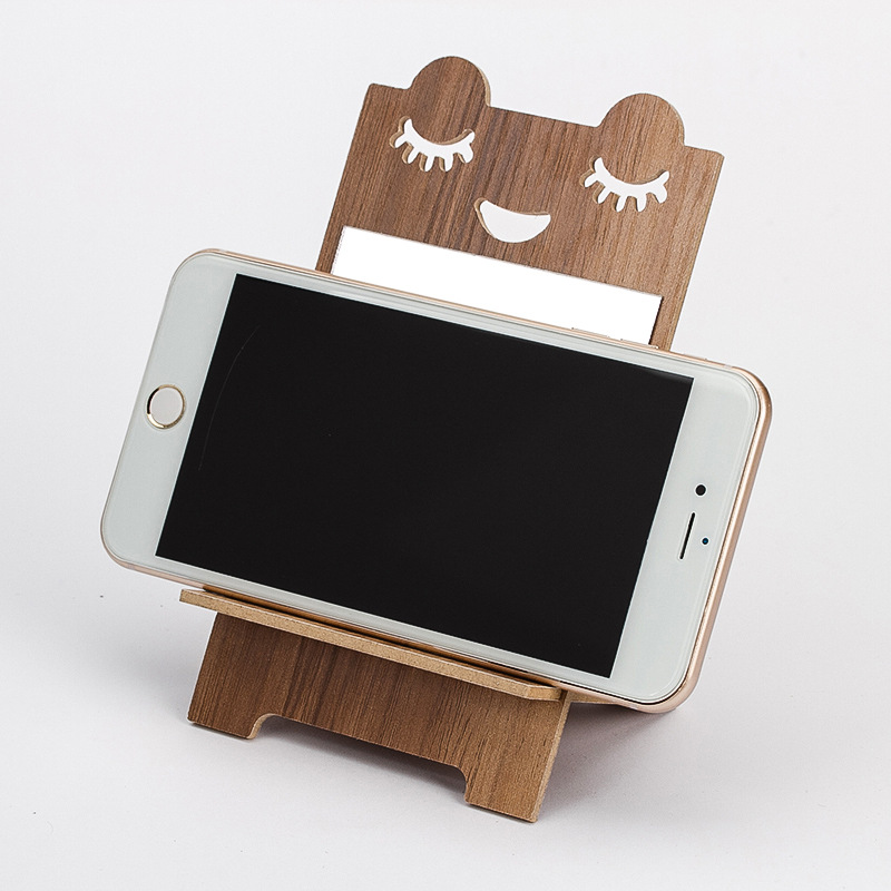 Universal Table Cell Phone Support Holder For Phone Desktop Stand Mobile Phone Holder Mount Portable Vanity Mirror