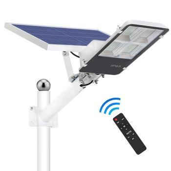 Solar Wall Street Outdoor Led Light Remote Control 30W 50W 120W 300W IP65 Waterproof  Security LED Wall Street Light