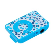 цена на Print Mini Clip MP3 Music Player with Micro TF/SD card Slot, 5 Colors (ONLY MP3 Player, NO USB, NO headphone)