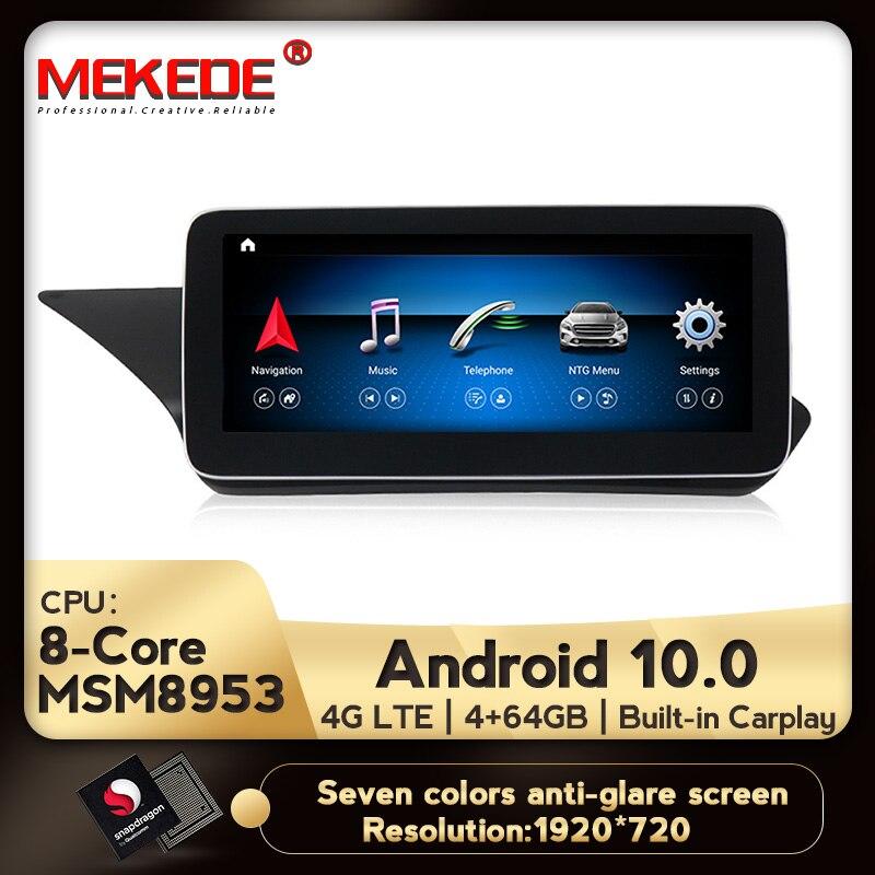HD أندرويد 10 8 core 4G + 64G 4G LTE سيارة لتحديد المواقع والملاحة مشغل وسائط متعددة لمرسيدس بنز E الفئة W212 E200 E230 E260 E300 S212