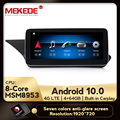 Автомобильный мультимедийный плеер, HD Android 10, 8 ядер, 4 Гб + 64 ГБ, 4G LTE, GPS навигация, для Mercedes Benz E Class W212, E200, E230, E260, E300, S212
