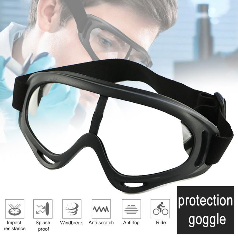1pc Outdoor Protective Glasses Safety Protection Anti-fog Anti-splash Anti-saliva Fully Sealed Sand-proof Wind-proof Goggles