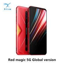 Nubia teléfono inteligente Red Magic 5G, versión Global, Pantalla AMOLED de 6,65 pulgadas, NFC, procesador Snapdragon 865, batería de 4500mAh, cámara trasera de 64MP