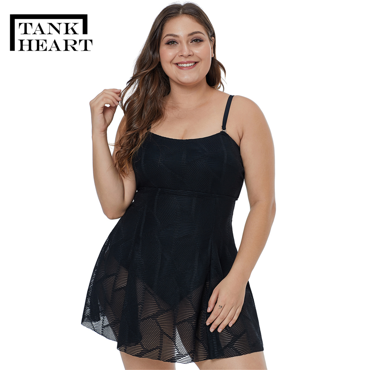 Top SaleSwimwear Women Skirt Bikini Mush Black Bathsuit Plus-Size XXXL Sexy