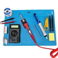 80W Elektrische lötkolben temperatur einstellbar 220V 110V Schweiß Solder eisen rework station lötkolben kit zubehör