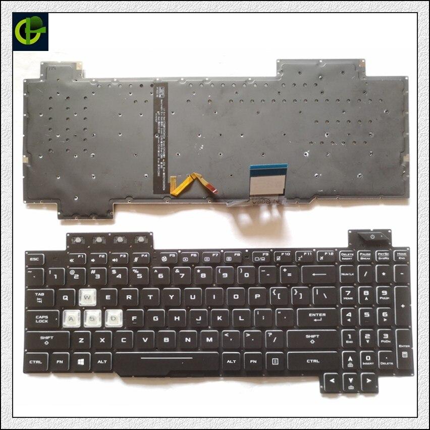 English Backlit Keyboard For ASUS ROG Strix Scar II GL704 GL704S7CM GL704GM GL704GM-DH74 GL704GV GL704GV-DS74 GL704GW  US