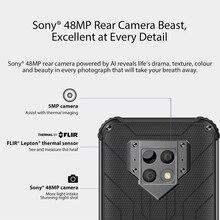 Blackview BV9800 Pro premier Smartphone d'imagerie thermique mondial Helio P70 Android 9.0 6GB + 128GB étanche 6580mAh téléphone portable
