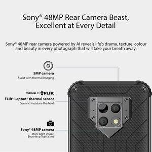 Image 3 - Blackview BV9800 פרו הגלובלי ראשון תרמית הדמיה Smartphone Helio P70 אנדרואיד 9.0 6GB + 128GB עמיד למים 6580mAh נייד טלפון