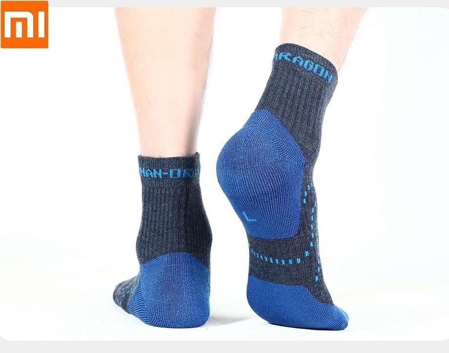 Xiaomi Men Sports Outdoor Function Wool Socks  Soft Skin-friendly Wool Antibacterial Deodorant Autumn  Winter Warm Socks
