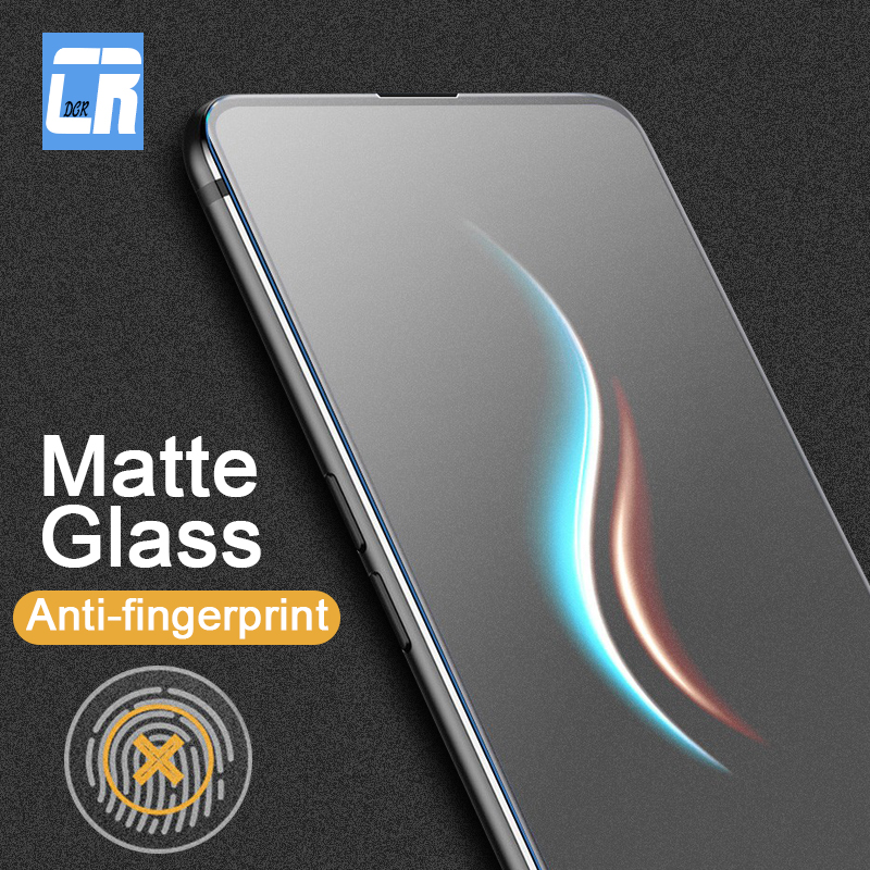 <font><b>9D</b></font> Frosted Protective Film Tempered Glass for <font><b>Xiaomi</b></font> <font><b>Redmi</b></font> K20 Note 8 7 6 5 Pro 6A 5A <font><b>4X</b></font> Matte Anti-fingerprint Screen Protector image