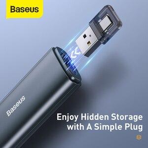 Image 5 - Baseus אלחוטי מגיש USB & USB C מצביע לייזר עם שלט רחוק אינפרא אדום מגיש עט עבור מקרן Powerpoint PPT שקופיות
