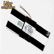 Batería de 5 hilos de la mejor marca, 3575190, 3,7 V, Baterías de polímero de litio, 8000mah, 3875188, tableta, batería integrada central