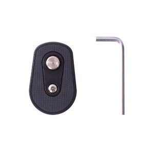 "Image 5 - אייפל מצלמה gimbal תחתון להאריך צלחת להרכבת צג, מיקרופון, LED אור 1/4 ""3/8"" בורג חור עבור רונין S/SC מנוף 2"