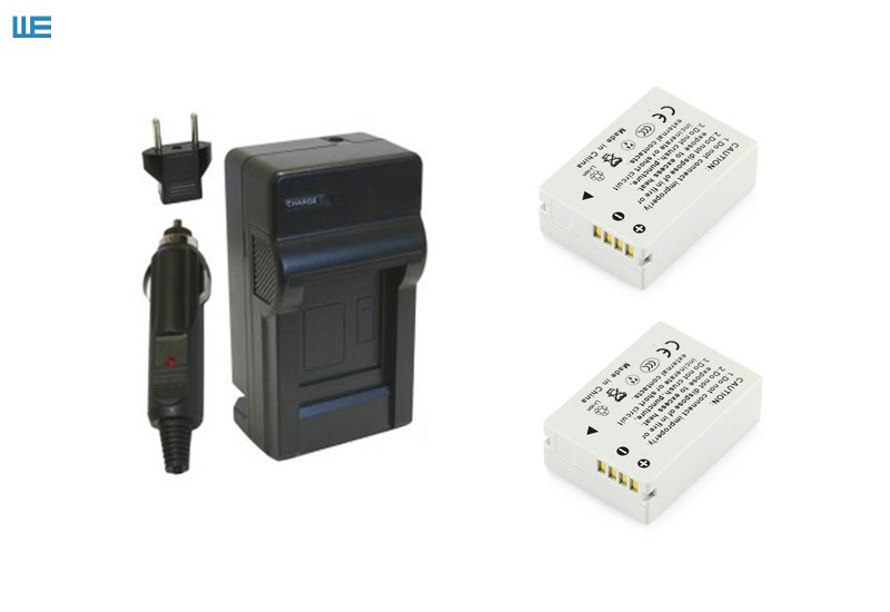 NB-10L, NB10L аккумулятор и зарядное устройство для Canon PowerShot SX60 HS, SX50 HS, SX40 HS, G15, G16, G1 X, G3 X