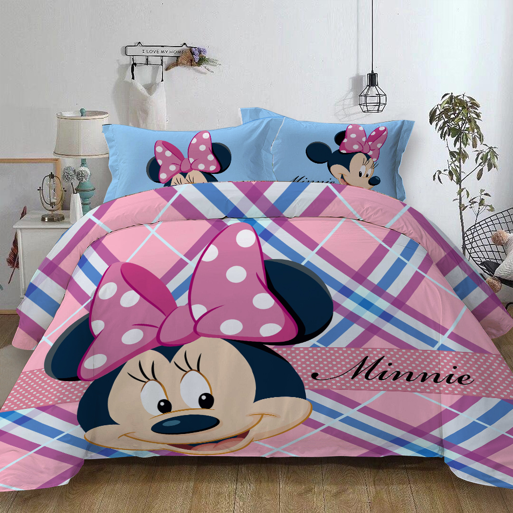 Möbel Wohnen Disney Mickey Mouse Minnie Maus Bettwäsche Duvet Cover Set Double 200 X 200 Cm Jeoz Com Co