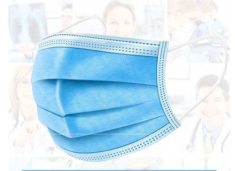50pcs Non-woven 3 Layers Anti-dust   Masks Disposable Safe Breathable Face Mouth Mask Kids Adult Ear Loop Filter Masks