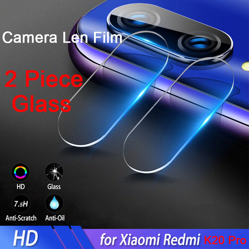 2 Pieces Camera Len Film For Xiaomi Redmi K20 Pro Phone Screen Protector Protective Tempered Glass For Redmi Note 7 Glass