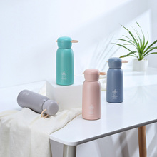 Stainless Steel Vacuum Flask Cup Portable Cartoon Mug Insulated Coffee Mugs Juice Cups Kitchen Thermos Water Bottle Tumbler Cup aks stainless steel thermos cups thermocup insulated tumbler vacuum flask garrafa termica thermo coffee mugs travel bottle mug