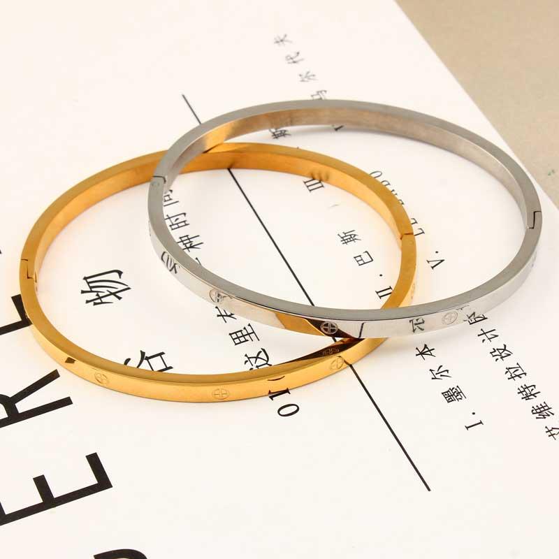 XUANHUA Stainless Steel Cuff Bracelets Bangles For Women Fashion Jewelry Charm Jewelry Accessories Bohemian Stylish Classic 1