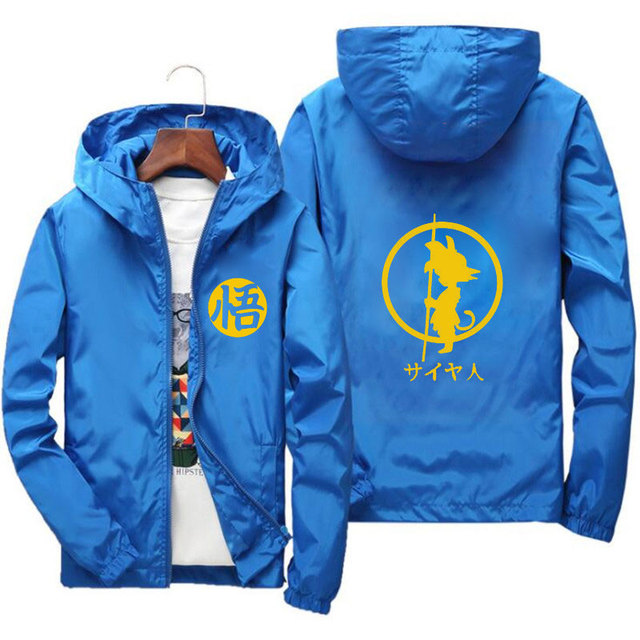 DRAGON BALL THEMED HOODIE JACKET (11 VARIAN)