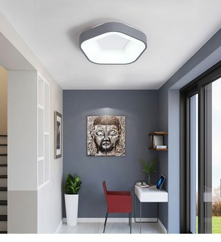LED Ceiling Light Ceiling Lamp Modern Lamp Living Room Lighting Fixture Bedroom Surface Mount Flush Panel Remote Control