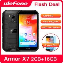 Перейти на Алиэкспресс и купить ulefone armor x7 rugged smartphone android 10 cell phone 2gb 16gb ip68 quad-core nfc 4g mobile phone