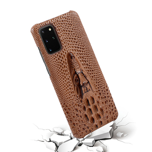 Image 4 - Super Anti fall Case For Samsung Galaxy S20 Ultra S 20 Plus S10 Plus Case Cowhide Leather Heavy Duty Protection Anti knock Cover