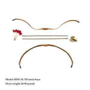 Image 5 - Crimean Tatar  Bow HINCAL H7 20 90lbs All Resin Traditional Horse Bow Target Archery bow Recurve Bow Short Bow