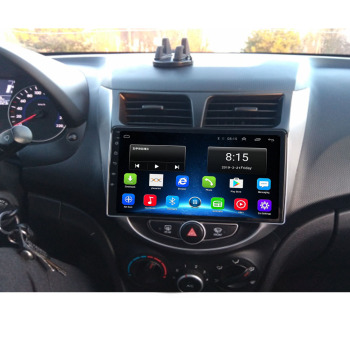 4G LTE 2G+32G Android10.0 Car Radio Multimedia Video Player For Hyundai Solaris Accent i25 2010-2016 Navigation GPS No 2 din image