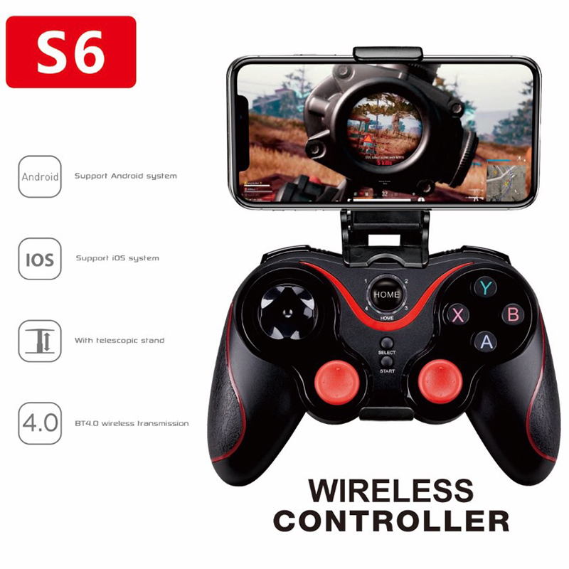 Wireless Bluetooth Android IOS Gamepad pubg Wireless Joystick Game Controller pubg Joystick For Mobile Phone Fit PC Tablet Games