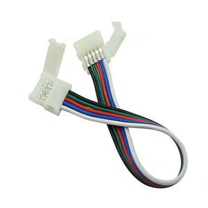 Image 5 - Câble à double connexion, 2/3/4/5 broches, 100 pièces, pour WS2811/WS2812B/3528, RGB/RGBW 5050, 5050 pièces