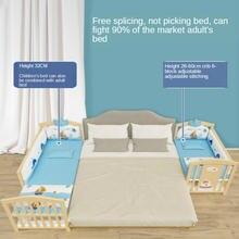 Детская кроватка для новорожденных мульти функциональные неокрашенный