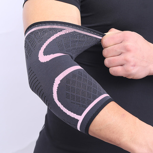Image 5 - AOLIKES 1PCS Elbow Support Elastic Gym Sport Elbow Protective Pad Absorb Sweat Sport Basketball Arm Sleeve Elbow Brace