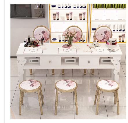 Manicure Table Simple Modern Double Table And Chair Suit Single Small Simple Manicure Table Double Deck Special Price Economic T