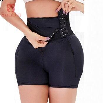 GUUDIA Butt Lifter Shapewear Body Shaper Shorts Paded Panties Control Panties Sexy Shapers Hip Enhancer Waist Trainer Shapwear