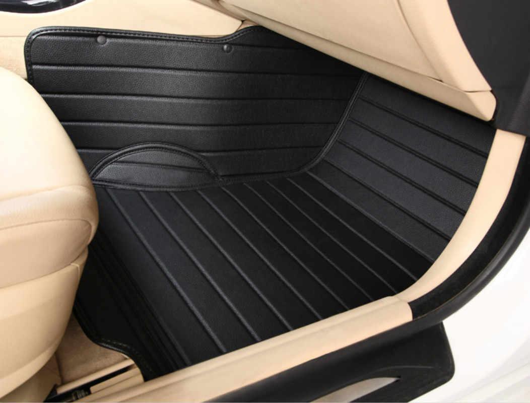 Cobertura completa duraderas alfombras de coche especial alfombras de piso para Jaguar XEL XFL XE XF XJ XJL F-PACE F-TYPE XK X-TYPE S-TYPE La Mayoría de los modelos