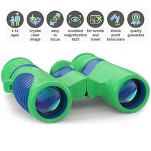 Kids Night vision Binoculars 8x21 Bird Watching Hiking Hunting Outdoor Scope Toy For Boys Girls Outdoor Campings Hiking 8x21 kids binoculars compact binocular roof prism for bird watching educational learning christmas gifts children toys